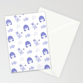 Farthing the Fairy Penguin, Playful Pattern Stationery Cards