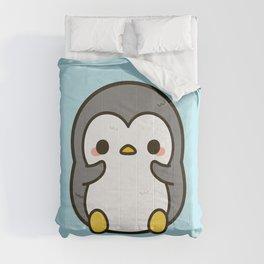 Shy penguin Comforters