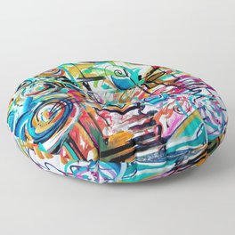 Melody of Color Floor Pillow