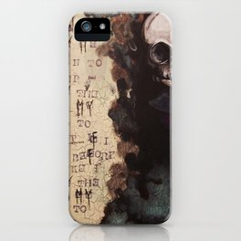 The Forgotten Ones by Macabre iPhone Case