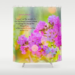 Serenity Prayer - II Shower Curtain
