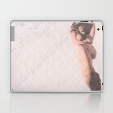 Reclining Lace Nude Laptop & iPad Skin