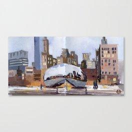 Cloud Gate, Chicago  Canvas Print