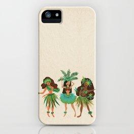Luau Girls iPhone Case