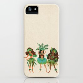 Luau Girls iPhone Case