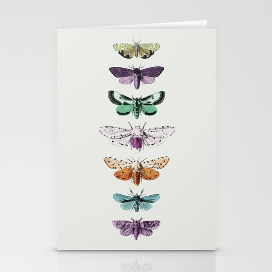 Techno-Moth Collection Stationery Cards