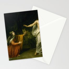 Alexander Andreyevich Ivanov - Christ's Appearance to Mary Magdalene after the Resurrection Stationery Cards