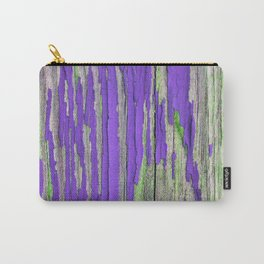 Peeling paint in purple Carry-All Pouch