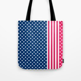 Abstract Patriotic pattern . Tote Bag