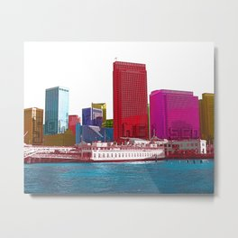 San Francisco City Metal Print