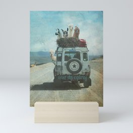 ALPACA WANDERLUST II SUMMER EDITION Mini Art Print