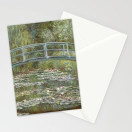 Water Lily Pond (Japanese Bridge) Stationery Cards