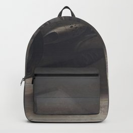 Old airplane 3 Backpack