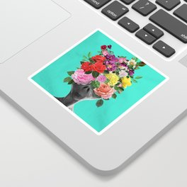 Alien Bouquet  Sticker