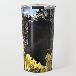 Graveyard Flowers Travel Mug