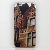brussels iPhone & iPod Skins featuring Brussels by monography