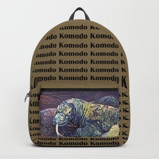 Komodo Dragon by jmacnairart