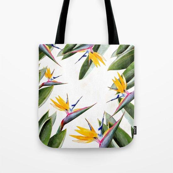 Bird of Paradise #society6 Tote Bag