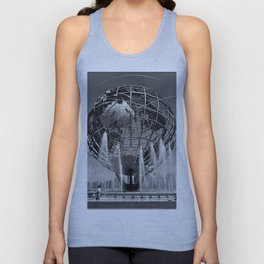 A Dramatic Summer Afternoon in Queens Unisex Tank Top
