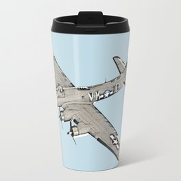 Boeing B-17 Flying Fortress airplane Travel Mug