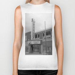 Vintage Neon Sign - The Rialto Theater - Tucson Arizona Biker Tank
