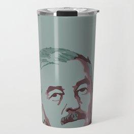 William Faulkner Travel Mug