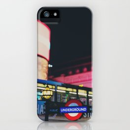 London nightlife ... iPhone Case