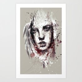 want Art Print