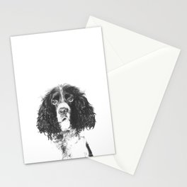 Springer Spaniel Stationery Cards
