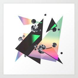 Multicolor Orgasm Art Print