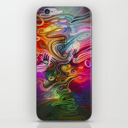 Occupying This Form iPhone Skin