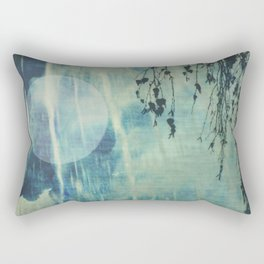 dreaming under the birch Rectangular Pillow