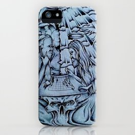 Untitled #018 by Brian Mansfield iPhone Case