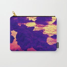 Ocean Vibes, In Sunset Tides Carry-All Pouch