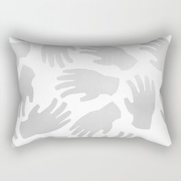 Hands On Rectangular Pillow