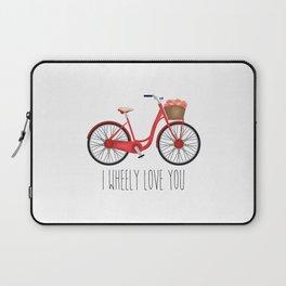 I Wheely Love You Laptop Sleeve