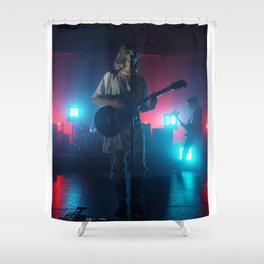 Christian Zucconi of Grouplove at Terminal 5, New York Shower Curtain