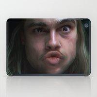 brad pitt iPad Cases featuring Brad Pitt - 12 Monkeys - Monkey Wrench by Saint Genesis