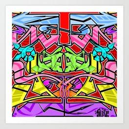 Abstract Arrows Art Print