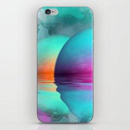 where three suns rise iPhone Skin