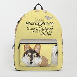 Mexican Wolf (Canis lupus baileyi) (TOPOS) Backpack