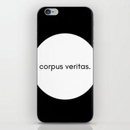 Corpus Veritas iPhone Skin