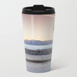 Seascape and Tree Travel Mug