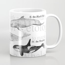 II. The Octavo Whale Coffee Mug