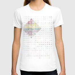 The System - diamond T-shirt