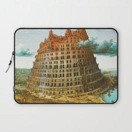 Pieter Bruegel the Elder's The Tower of Babel Laptop Sleeve