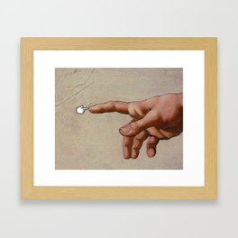 Digital and Physical  Framed Art Print