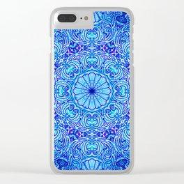 Mehndi Ethnic Style G454 Clear iPhone Case