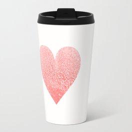 CORAL HEART Travel Mug