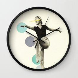 The Rules of Dance I Wall Clock